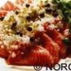 Saumon de norvege tataki