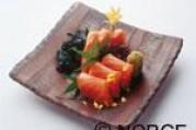 Carpaccio de saumon de norvège à la japonaise