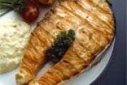 Grillade de saumon de norvège aux herbes
