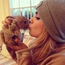 Cara delevingne Dogfies rabbit