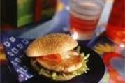 Burger au saumon de Norvège