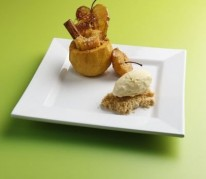 pomme-rotie-caramelisee-facon-crumble
