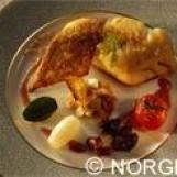 Filets de cabillaud de norvège (skrei) aux petits légumes