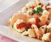 Salade de chou-fleur aux crevettes