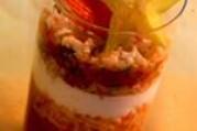 Gaspacho de surimi à l'andalouse
