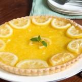 Tarte au citron (sans meringue)