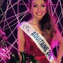 Axelle Bonnemaison Miss Aquitaine 2016