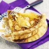 Tarte aux poires à la crème de pain d'épices