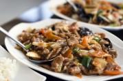 Chop suey de légumes au boeuf