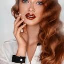 Maquillage fête yeux bleus
