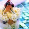 Risotto emmental, fruits de mer et algue nori