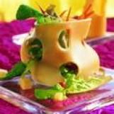 Salade curieuse d'emmental