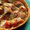 Tarte emmental, abricot et fenouil facile