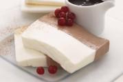 Terrine mousseuse chocolat-vanille