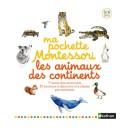 Ma pochette montessori les animaux des continents Nathan