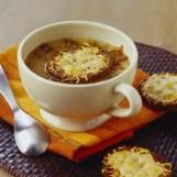 Soupe à l'oignon caramélisé