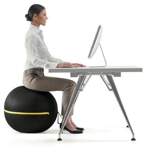 bien tre au travail remplacez votre chaise par une balle de gym diaporama forme doctissimo. Black Bedroom Furniture Sets. Home Design Ideas