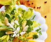 Salade de crabe au melon