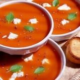 Soupe aux carottes et à l'orange