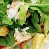 Salade fraîcheur aux épinards