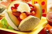 Melon garni