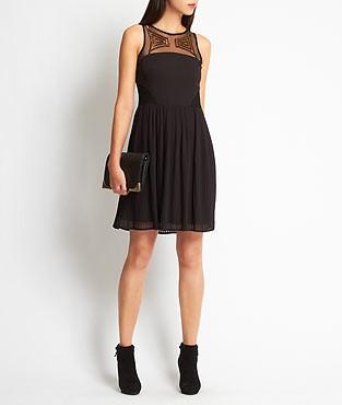 robe de soiree longue etam la mode des robes de france. Black Bedroom Furniture Sets. Home Design Ideas