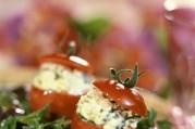 Petites tomates farcies à la feta