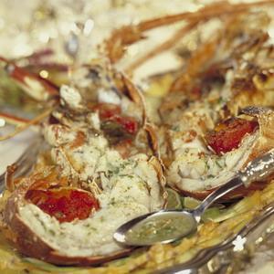 Langouste grill e la r unionnaise recette de langouste - Recette de langouste grillee antillaise ...