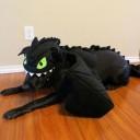 Déguisement chien Dragon Croquemou