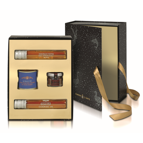 coffret foie gras chutney de figues cognac et armagnac 2016 comtesse du barry notre. Black Bedroom Furniture Sets. Home Design Ideas
