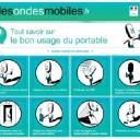 Campagne sur la réduction des expositions liées aux ondes électromagnétiques émises par les téléphon