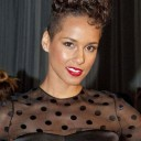 Les tempes rasées d'Alicia Keys