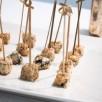 Bouchées au Roquefort façon sucettes