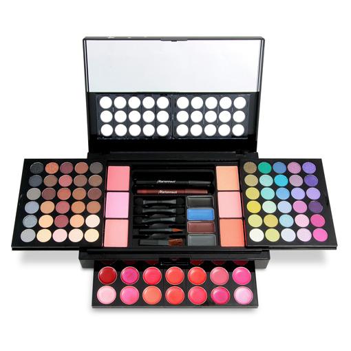 Cadeaux de no l 2014 palette de maquillage xxl - Palette maquillage avec pinceaux ...