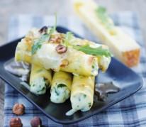 macaronis-farcis-gratines-a-l-emmentaler-aoc-suisse-jus-de-roquette-et-noisettes-grillees