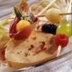 Magret et foie gras en buisson ardent
