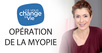 yeux operation myopie