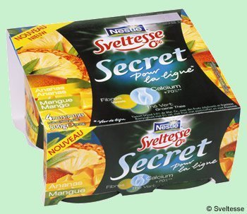 Secret 0 % aux fruits de Sveltesse