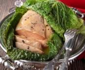 Le foie gras en robe de chou