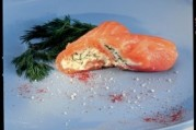 Cannelonis de saumon fumé à la faisselle