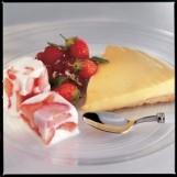 Tartelette citron, glaçons de yaourt aux fraises