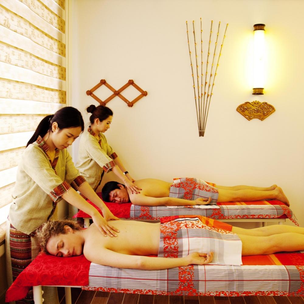 Massage duo massage couple spa lanqi diaporama forme doctissimo - Salon massage chinois paris 13 ...
