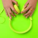 nail art coloré
