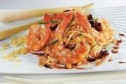 Crevettes à la citronnelle