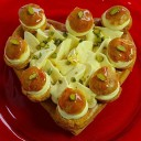 Saint Honoré Saint Valentin - Pâtisserie Jean Millet - © Serge Arnal