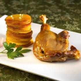 Cuisses De Canard Confites Pommes De Terre Salardaises Recette De