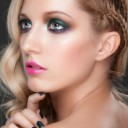 Maquillage yeux bleus teint clair