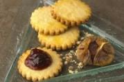 Sablés à la confiture de figues vanillées
