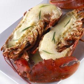 Homard grill sabayon au champagne recette de homard - Recette homard grille ...