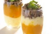 Mini hachis de légumes de saison et boeuf haché sauce soja